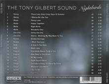 "TONY GILBERT  ""Nightbirds"" CDTS 269"