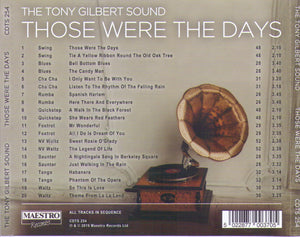 TONY GILBERT 'Those Were The Days' CDTS 254