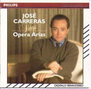"JOSE CARRERAS ""Opera Arias"" 426 643-2"