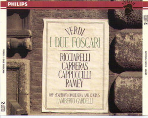 "JOSE CARRERAS ""I Due Foscari"" 2cd-422 426-2"