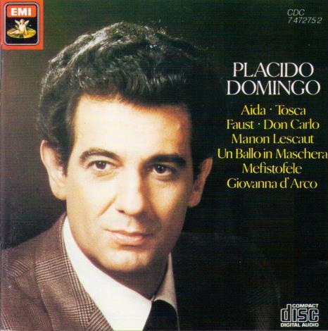 PLACIDO DOMINGO  'Arias & Scenes' 7 47275-2