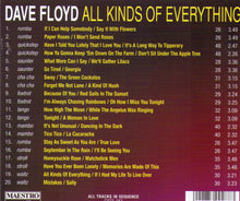 "DAVE FLOYD ""All Kinds Of Everything"" CDTS 182"