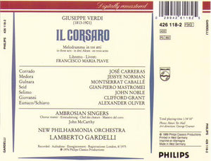 "JOSE CARRERAS ""Il Corsaro"" 2cd-426 118-2"