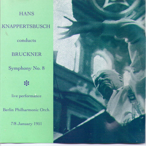 Knappertsbusch - BRUCKNER: Symphony No. 8 in C - 1-CD-MACD 856 (1)