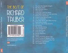 RICHARD TAUBER 'The Best Of'  5 82039 2