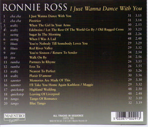 "RONNIE ROSS ""I Just Wanna Dance With You"" - CDTS 185"