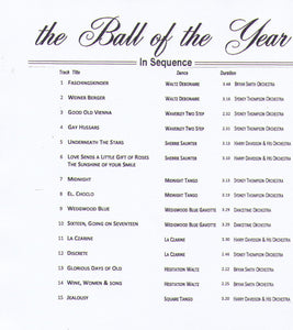 "OLD TIME DANCING ""the Ball of the Year"" SAV 380 CD"