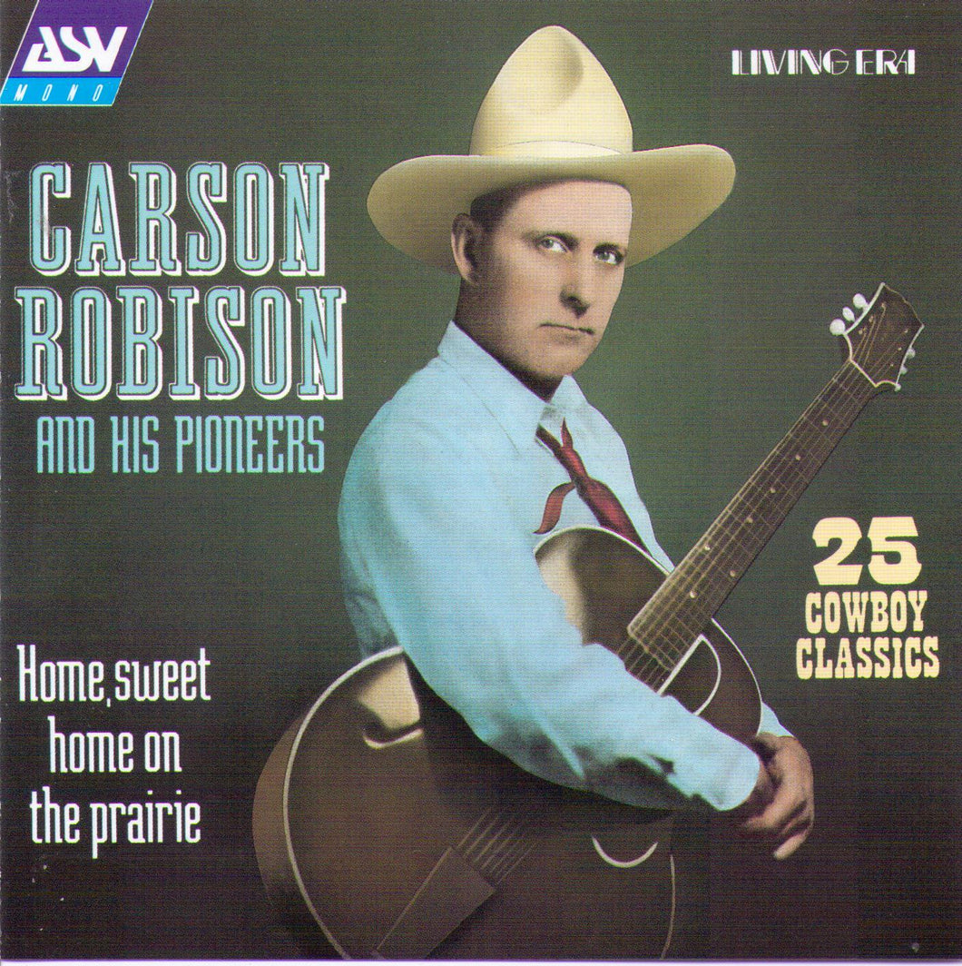 CARSON ROBISON & HIS PIONEERS - CD AJA 5187