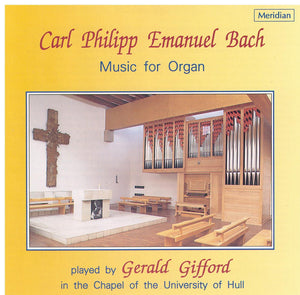 C.P.E. BACH - Music for Organ - CDE 84318