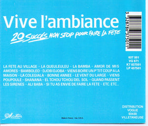 Vive l'ambiance - VG 637501