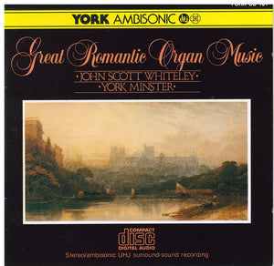GREAT ROMANTIC ORGAN MUSIC- York CD 101