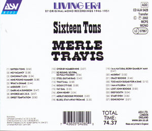 MERLE TRAVIS - Sixteen Tons - CD AJA 5428