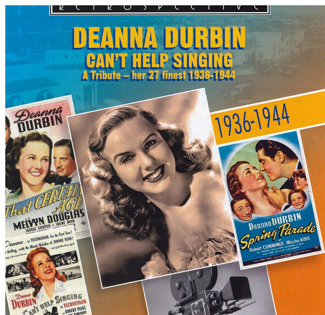 DEANNA DURBIN 'Can't Help Singing' RTR 4237