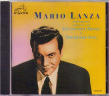"MARIO LANZA ""The Student Prince/The Desert Song"" 60048-2-RG"