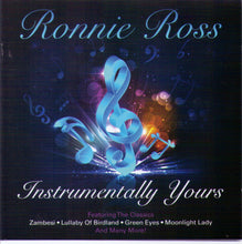 "RONNIE ROSS ""Instrumentally Yours"" - CDTS 206"