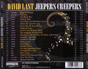 DAVID LAST 'Jeepers Creepers' CDTS 172