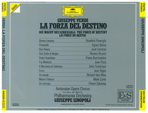 LA FORZA DEL DESTINO  419 203 (3-CD Set) $59.95