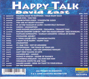 "DAVID LAST ""Happy Talk""  CDTS 096"