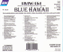 BLUE HAWAII - CD AJA 5121