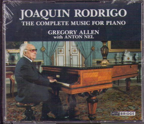 JOAQUIN RODRIGO...The Complete Music for Piano...2CD-BCD 9027AB