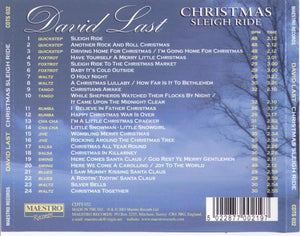 DAVID LAST 'Christmas Sleigh Ride' CDTS 032