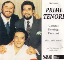 "CARRERAS / DOMINGO / PAVAROTTI ""Primi Tenori"" 2-cd SRO 835-2"