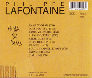 PHILIPPE LAFONTAINE - VG 600257