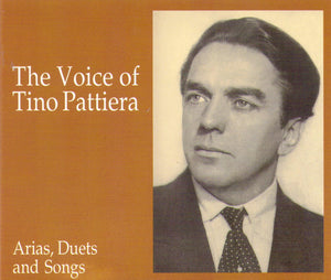 TINO PATTIERA - Arias/Duets/Songs - 2-CD-89222