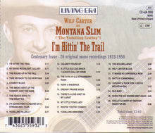 "Wilf Carter as MONTANA SLIM  (""The Yodelling Cowboy"") - CD AJA 5593"
