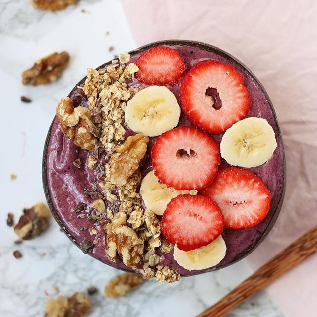 Dessert: Blueberry Acai Smoothie Bowl Recipe