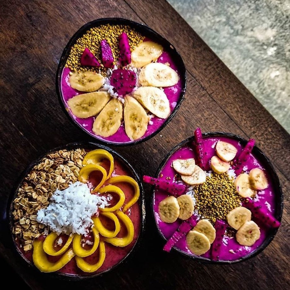 Breakfast - Purple Paradise Smoothie Bowl Recipe
