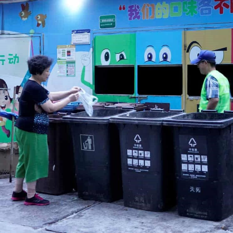 A sort of eco-dictatorship': Shanghai grapples with strict new recycling laws