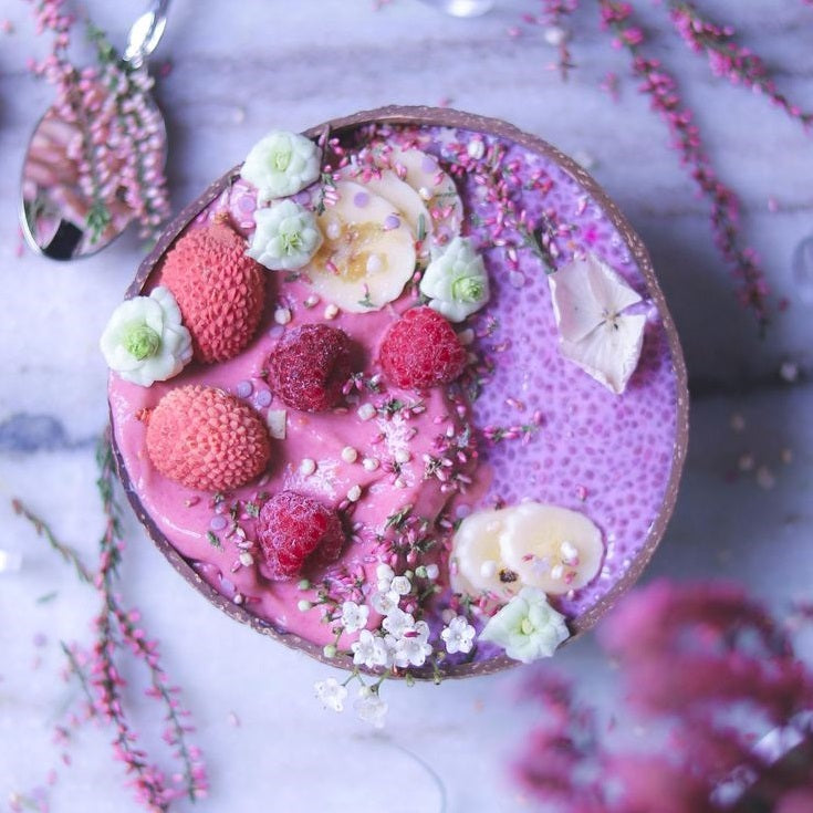 Dessert - Gorgeous Pink Chia Smoothie Recipe