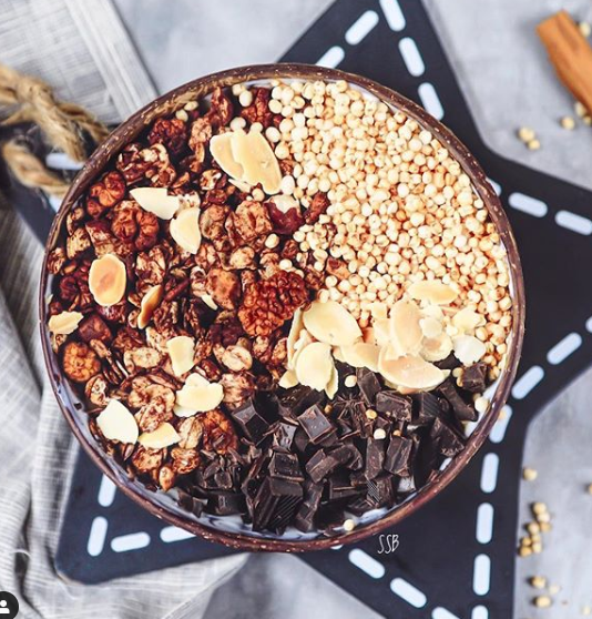 Chocolate Crunchy Granola