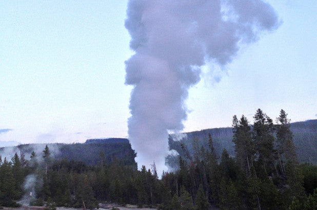 Yellowstone's Steamboat Geyser breaks eruption record, stuns scientists