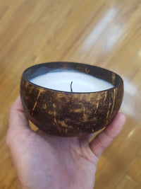 Cocoboo Handmade Soy Candle, in Reclaimed Coconut Shell