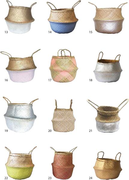 Wholesale | Belly Seagrass Basket 2
