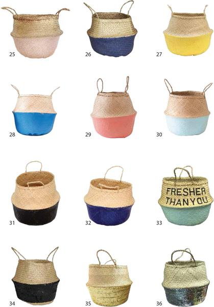 Wholesale | Belly Seagrass Basket 3