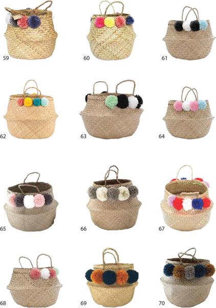 Wholesale | Belly Seagrass Basket 6