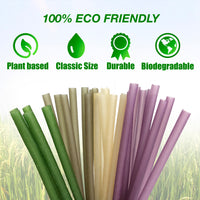 Cocoboo Plant-Based Drinking Straws