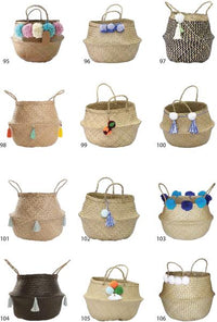 Wholesale | Belly Seagrass Basket 9