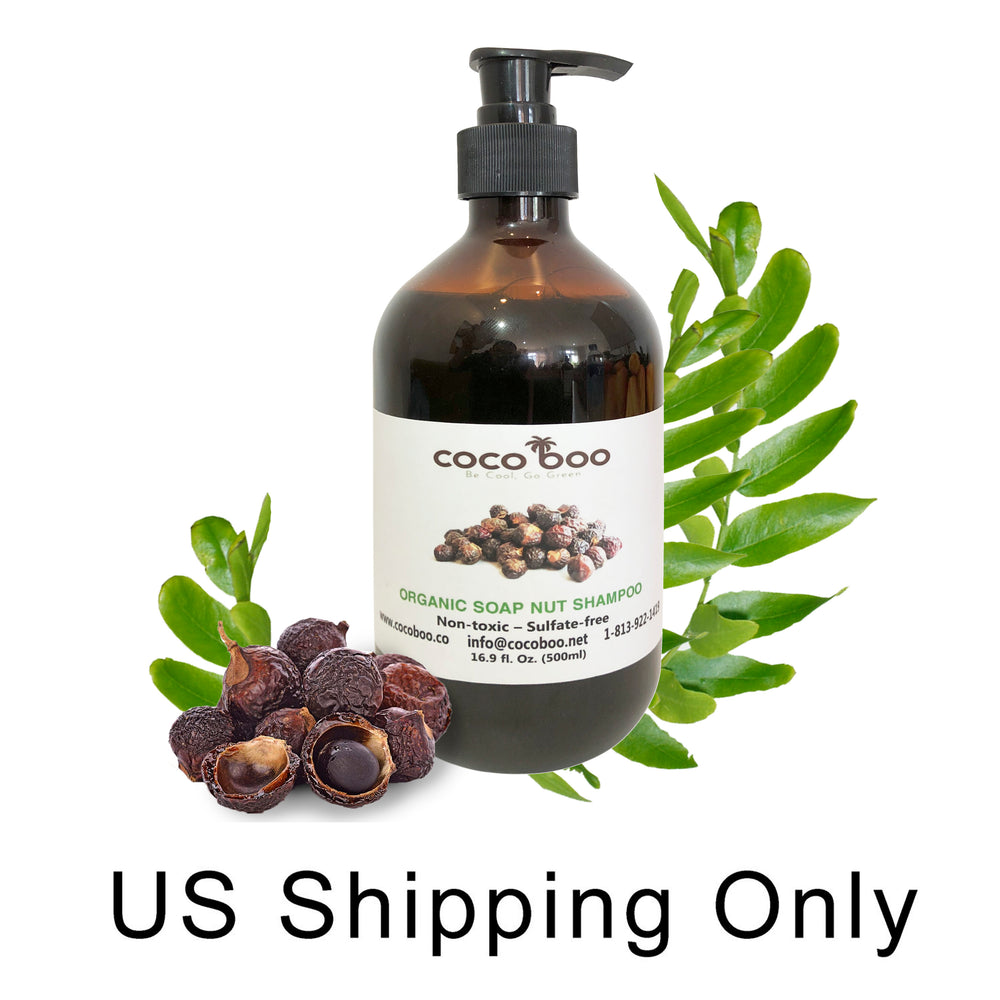 Cocoboo Organic Soap Nut Liquid Hand Soap and Shampoo, 17 Oz