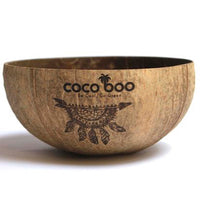Personalized Engraved Coconut Bowls - Engraved Your Own Design, Logo or Name (Minimum Order Qty: 25)