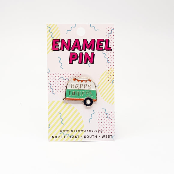 Happiest Camper Enamel Pin