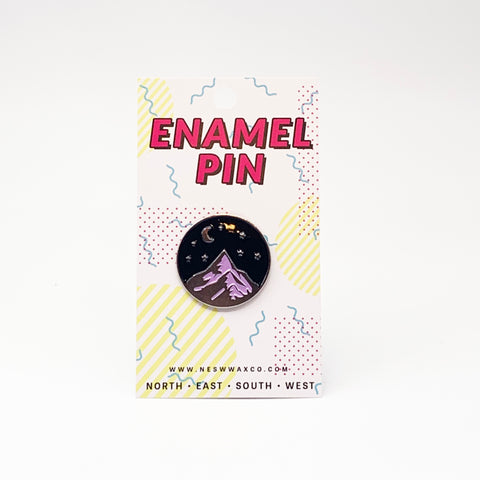 Nightscape Enamel Pin