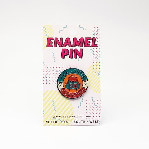 Pack Lighter Enamel Pin