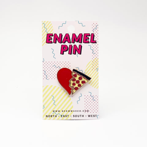 Pizza My Heart Enamel Pin