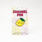 Slightly Bitter Enamel Pin