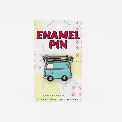 Out to Surf Enamel Pin