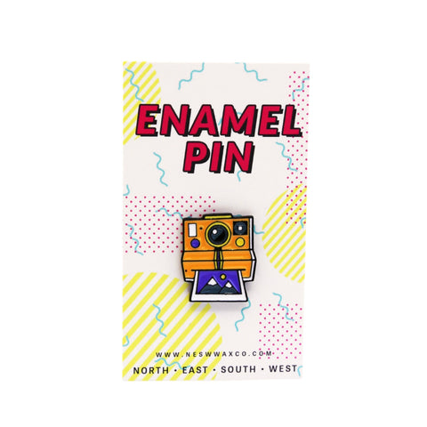 Retro Polaroid Enamel Pin